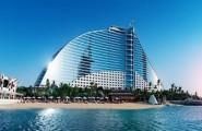 Jumeirah beach hotel exterier Dubaj.nadosah.sk
