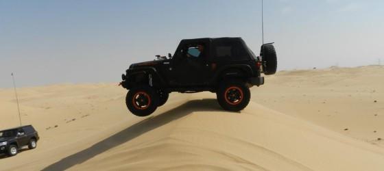 Výlet do púšte na terénnych autách